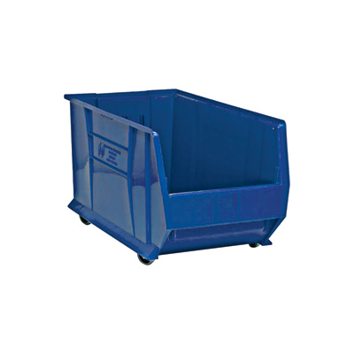 Quantum Storage 30in. Mobile Hulk Container — 29 7/8in.L x 16 1/2in.W x 18in.H Bin, Blue