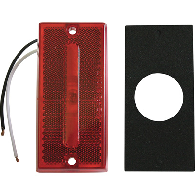 """Blazer Side Marker Trailer Light - Red, Model# B479R"""