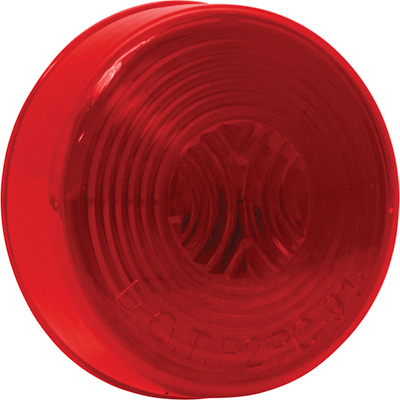 """Blazer Round Sealed Light - Red, 2 in. Dia., Model# B838R"""
