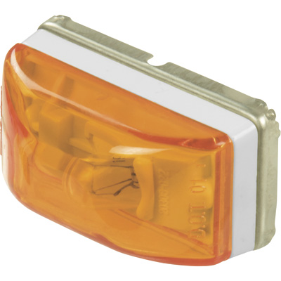 """Blazer Sealed Mini Marker Light with Stud Mount - Amber, Model# 490BA"""
