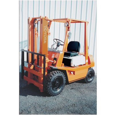 FREE SHIPPING — HYSTER Reconditioned Forklift — 3 Stage with Side Shift, 4,000-lb. Capacity, 1997-2003, Model# HY H40XM 97-03 TSU S/S