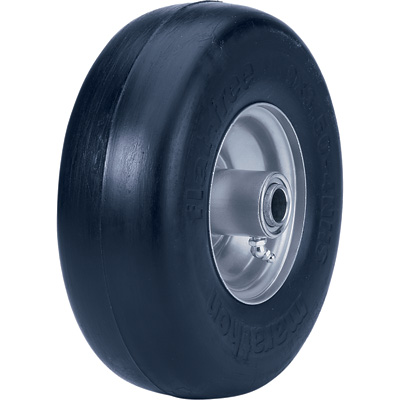 """Marathon Tires Flat-Free Lawn Mower and Cart Tire, 9in. x 3.50-4"""