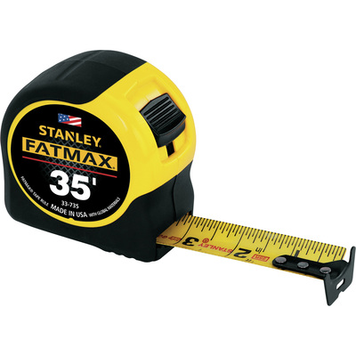 Stanley Fat Max Measuring Tape — 35ft. Length