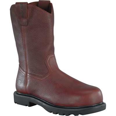 Iron Age Men's 11in. Wellington Composite EH Boot - Brown, Size 12 Wide, Model# IA0194