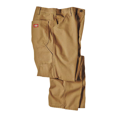 Dickies Men's 12-Oz. Duck Relaxed Fit Carpenter Pants - Timber, 38in. x 34in., Model# 1939RTB