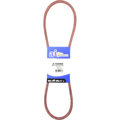 """A & I Products Polyester V-Belt - 41 1/2in.L x 5/8in.W, Model# A-7540468"""