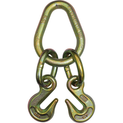 B/A Pear Link with 5/16in. Grab hooks — 4700-Lb. Safe Working Load, 2ft.L x 8in.W, Model# N711-8E