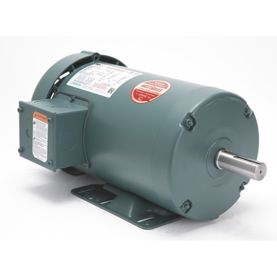 Leeson 3 phase industrial motor 2 hp 1725 rpm for 2 hp 3 phase motor
