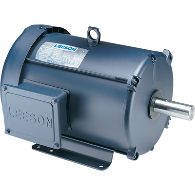 Leeson Industrial Motor 3 HP, 1,725 RPM, 460/208 230 Volts, 3 Phase, Model# 131463