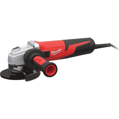 Milwaukee 6in. Grinder — 13 Amp, Paddle, Non-Locking, Clutch, Model# 6161-31