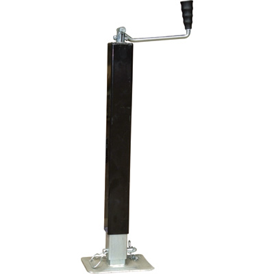 Ultra-Tow Square Tube Heavy-Duty Jack - 3,000-Lb. Lift Capacity, Top-Wind, Model# 50001042-A