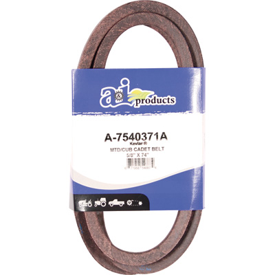 A & I Products Blue Kevlar V-Belt with Kevlar Cord — 74in.L x 5/8in.W, Model# A-7540371A