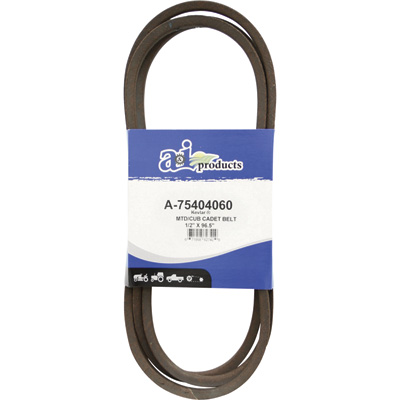 """A & I Products Blue Kevlar V-Belt with Kevlar Cord - 96 1/2in.L x 1/2in.W, Model# A-75404060"""