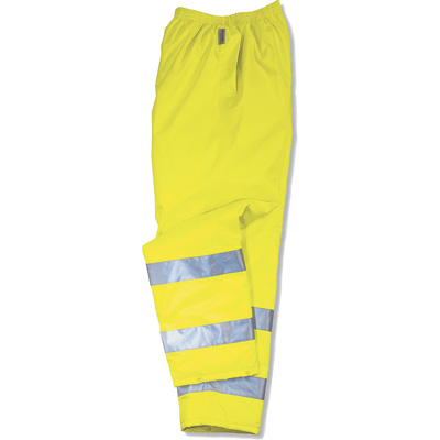 Ergodyne Men's Class E High Visibility Rain Pant — Orange, Model# 8915