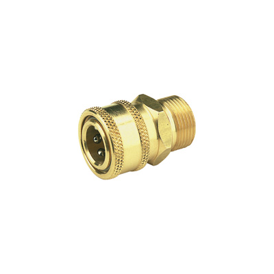 NorthStar Ball-Type Pressure Washer Quick Coupler — 22mm Inlet Size, 4000 PSI
