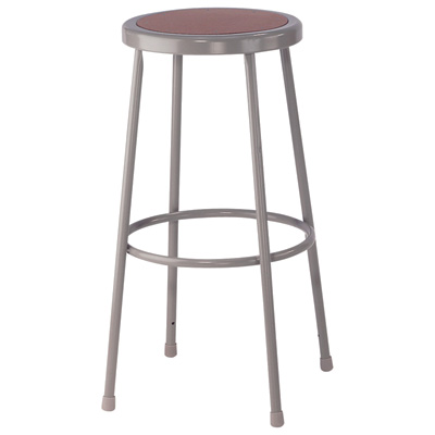 """National Public Seating Shop Stool - 30in.H, 300-Lb. Capacity, Model# 6230"""