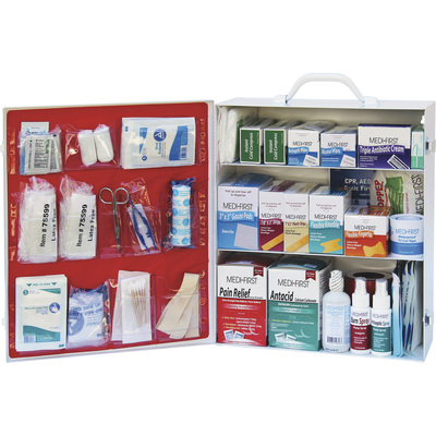 """Medique 3-Shelf First Aid Cabinet, Model# 745M1"""