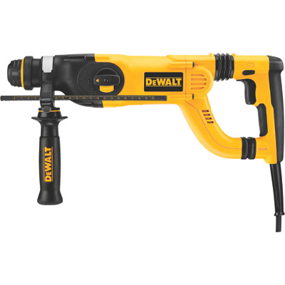 """FREE SHIPPING - DEWALT D-Handle SDS Rotary Hammer - 1in., 8 Amp, Model# D25223K"""