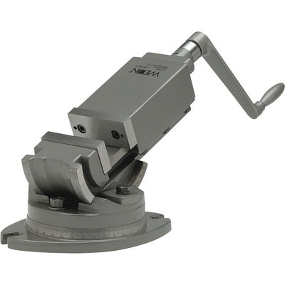 Wilton 2 Axis Precision Angular Machine Vise — 4in. Jaw Width, Model# AMV/SP-100