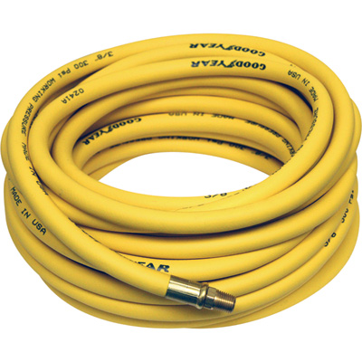 """Goodyear Pliovic Air Hose - 3/8in. x 50ft., Model# 12865"""