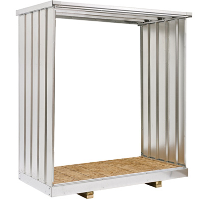 West Galvanized Steel Storage Container Extension Kit — 3 1/2Ft., Model# EX3.5