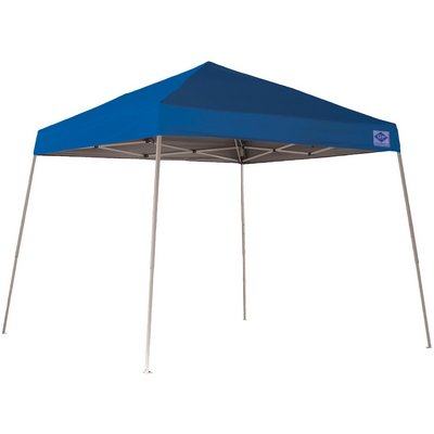 """Canopy Factory Pop-Up Canopy - 10ft.L x 10ft.W, Slant Leg, Blue, Model# 22591"""