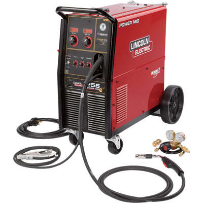"""FREE SHIPPING - Lincoln Electric Power MIG 256 Flux-Core/MIG Welder - 230V, 300 Amp, Model# K3068-1"""