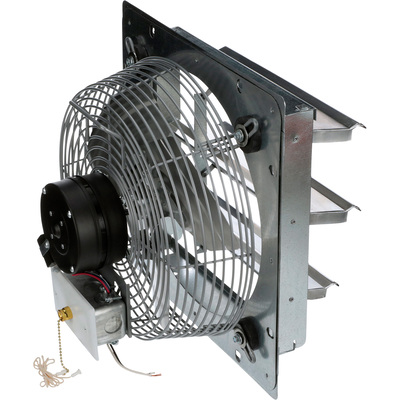 """TPI Shutter-Mounted Direct Drive Exhaust Fan - 12in., Model# CE-12-DS"""