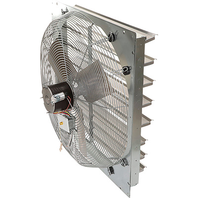 """TPI Shutter-Mounted Direct Drive Exhaust Fan - 30in., Model# CE-30-DS"""
