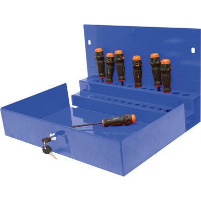 """Homak Locking Tool Organizer for 27in. Homak Pro Tool Cabinet - Blue, Model# BL08002601"""
