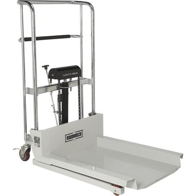 """Roughneck Ultra Low-Profile Lift Table Cart - 1,000-Lb. Capacity"""