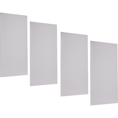 Triton Products DuraBoard Poly Pegboard — 32 Sq. Ft. Total