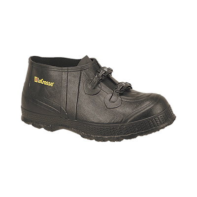 Lacrosse Men's 2-Buckle Rubber Overshoe - 5in.H., Size 14, Model# 266100