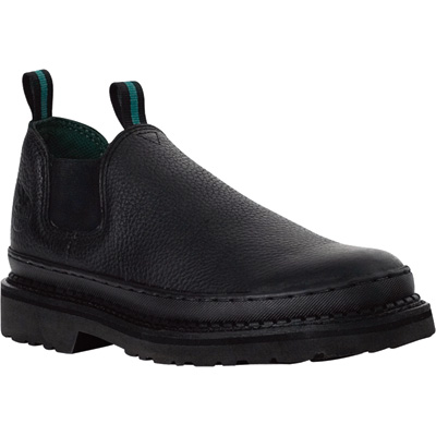 Georgia Men's Giant Romeo Work Shoes - Black, Size 12 Wide, Model# GR270