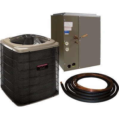 Hamilton Home Products Sweat-Fit Air Conditioning System — 1.5-Ton, 18,000 BTU, 17.5in. Coil, Model# 4RAC18S17-30