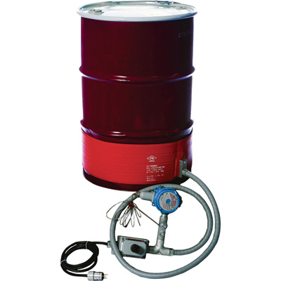 BriskHeat 55-Gallon Drum Heater for Hazardous Areas — For T4A Environments, Model# DHC DHCS151300T4A