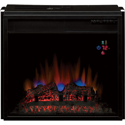 """ChimneyFree Vent-Free Blue SpectraFire Flame Electric Fireplace - 4600 BTU, 18in., Model# 18EF023GRA"""