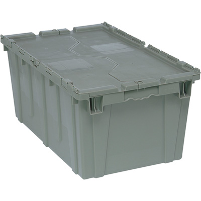 Quantum Storage Heavy Duty Attached Top Container - 27in. x 17 3/4in. x 12 1/2in. Size