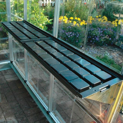 Palram Americana Greenhouse 12ft W X 12ft W X 8ft 6in H