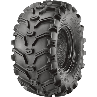 Kenda K299 Bearclaw Tubeless ATV Replacement Tire — 24 x 8.00-12 6PR TL, Model# 24812-6BC-I