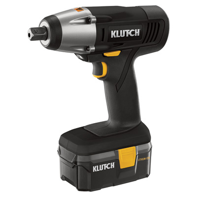 FREE SHIPPING - Klutch Cordless Impact Wrench - 18 Volt, Lithium-Ion, 1/2in. Anvil