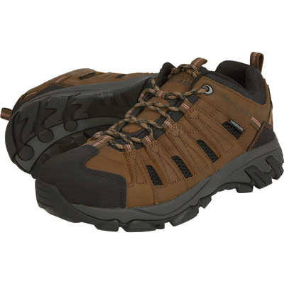 FREE SHIPPING - Gravel Gear Men's Waterproof Low Oxford Hiker Boots - Brown, Size 10 1/2
