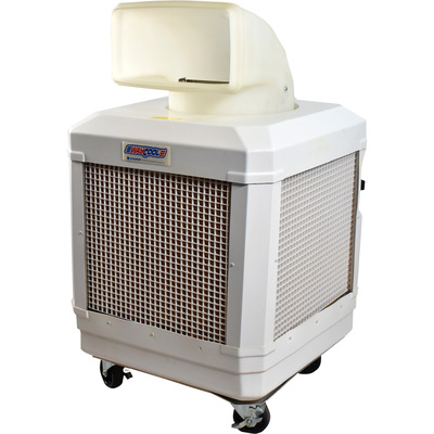 Schaefer Portable Evaporative Cooler — 1,560 CFM, 1/3 HP, Model# WC-1/3HPA