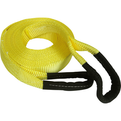 """SmartStraps Heavy-Duty Recovery Tow Strap with Loop Ends - 30ft.L x 2in.W, 15,000-Lb. Breaking Strength, Model# 831"""
