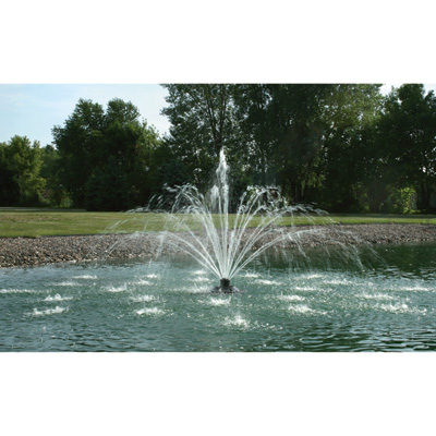 Kasco X-Stream Pond Fountain — 1/2 HP, 120V, 50-Ft. Power Cord, Model# 2400SF050