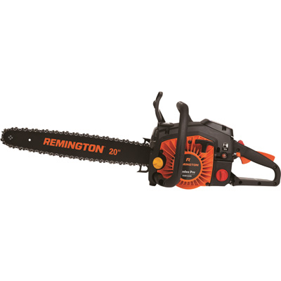 """Remington Chainsaw - 20in. Bar, 55cc 2-Cycle Engine, 3/8in. Pitch, Model# RM5520R"""