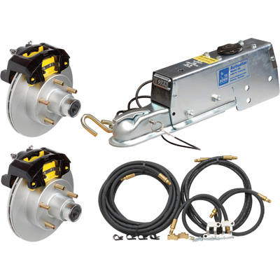 Tie Down Engineering Complete Disc Brake Kit — 10in. Rotor, 6,600-Lb. Actuator, 5 Lugs, Model# 86854