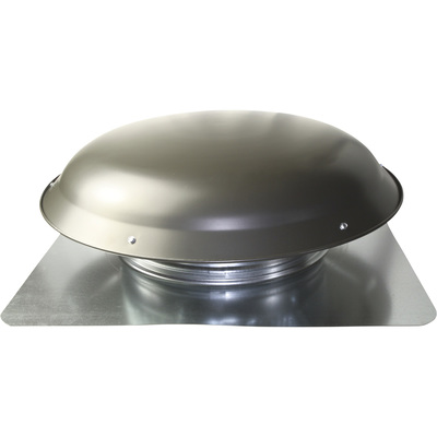 Cool Attic Power Roof Vent — 1,400 CFM, Weathered Gray Finish, Model# CX3000EEAMWG