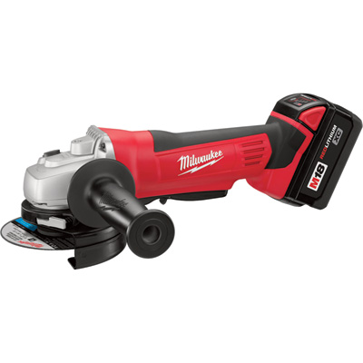 FREE SHIPPING — Milwaukee Cordless Cutoff/Grinder Kit — 18 Volt, 4.5in., Model# 2680-22