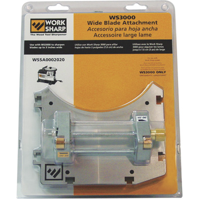 FREE SHIPPING - Work Sharp Wide Blade Attachment for Item# 3353000 - Model# WSSA0002020